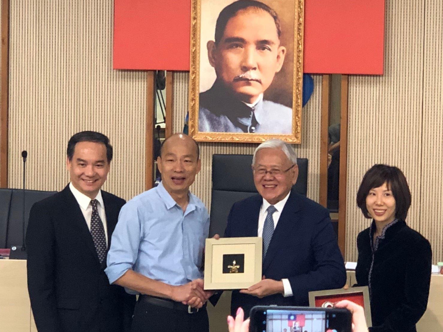 新加坡工商聯合總會來訪 表達投資高雄合作意願