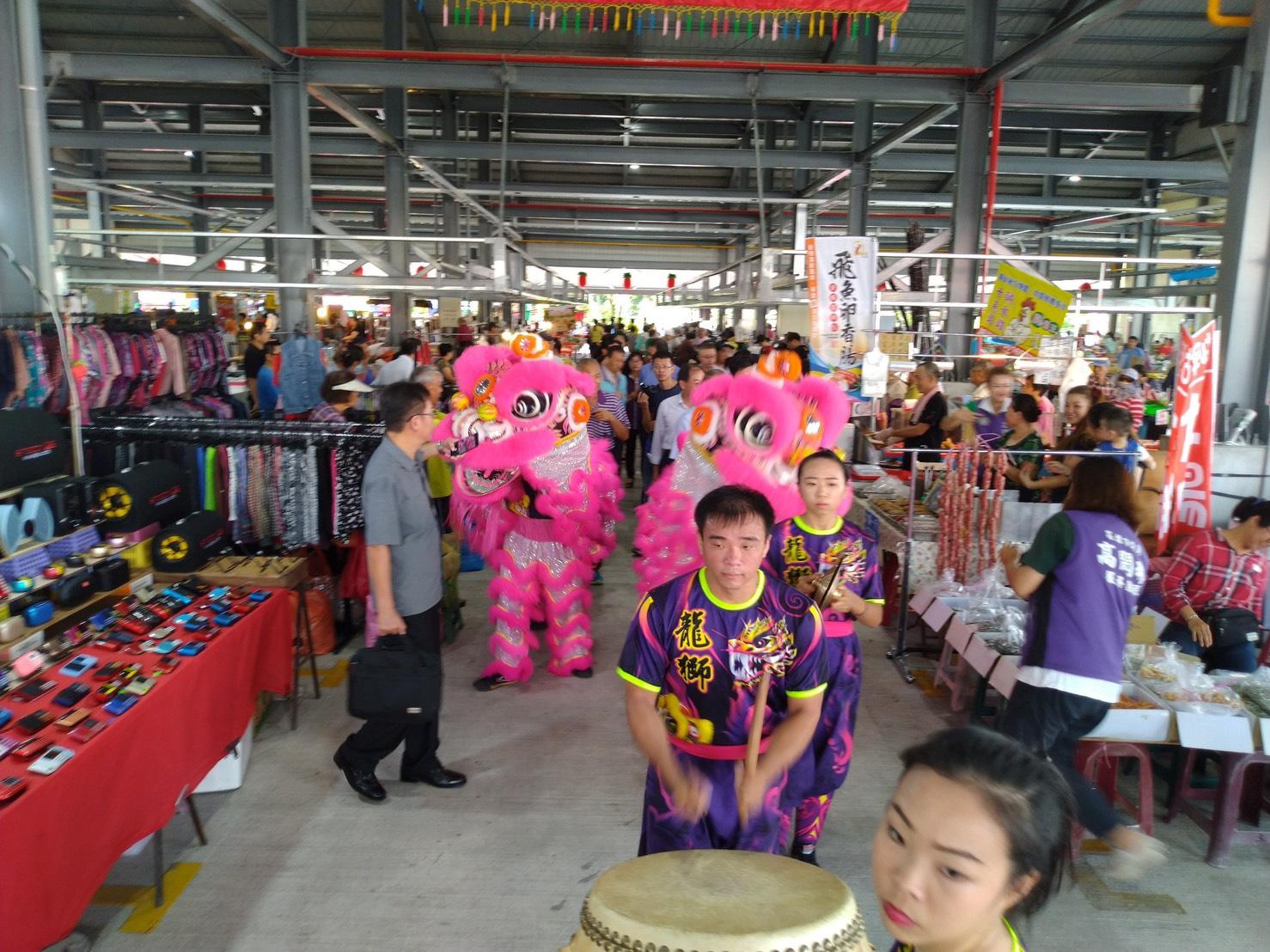 岡山欣欣市場中秋節正式開幕 歡迎民眾踴躍前往