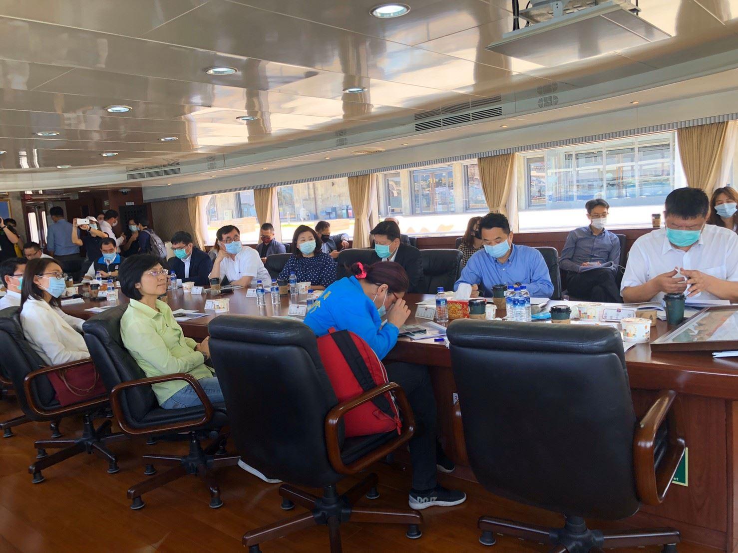 立委陳雪生率交通委員會 視察高雄摩天輪開發 開發協議書卡關要求中央依法一個月內簽訂
