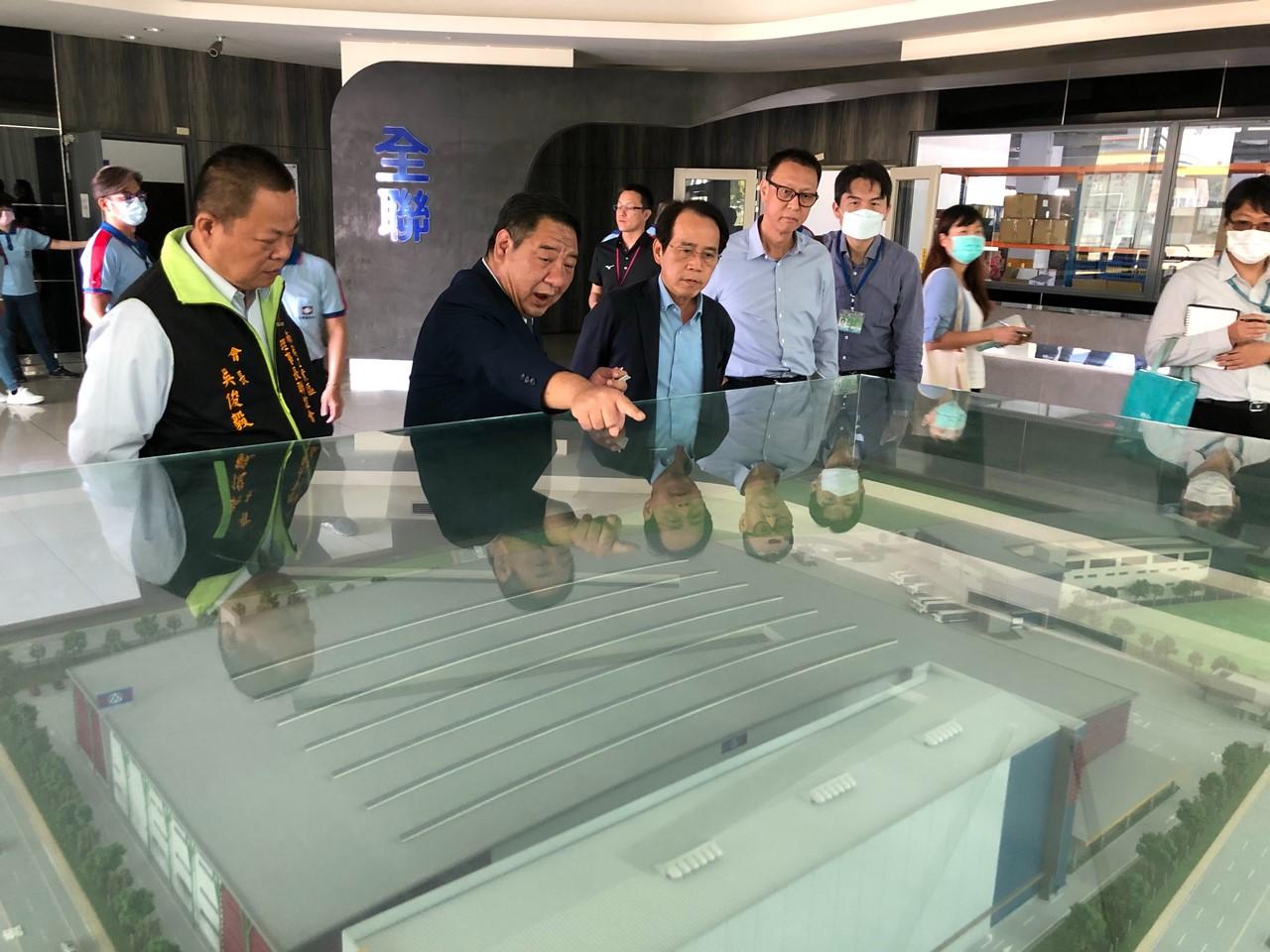 剛投資9.8億  全聯擬再加碼投資高雄 林欽榮允協助加速建廠