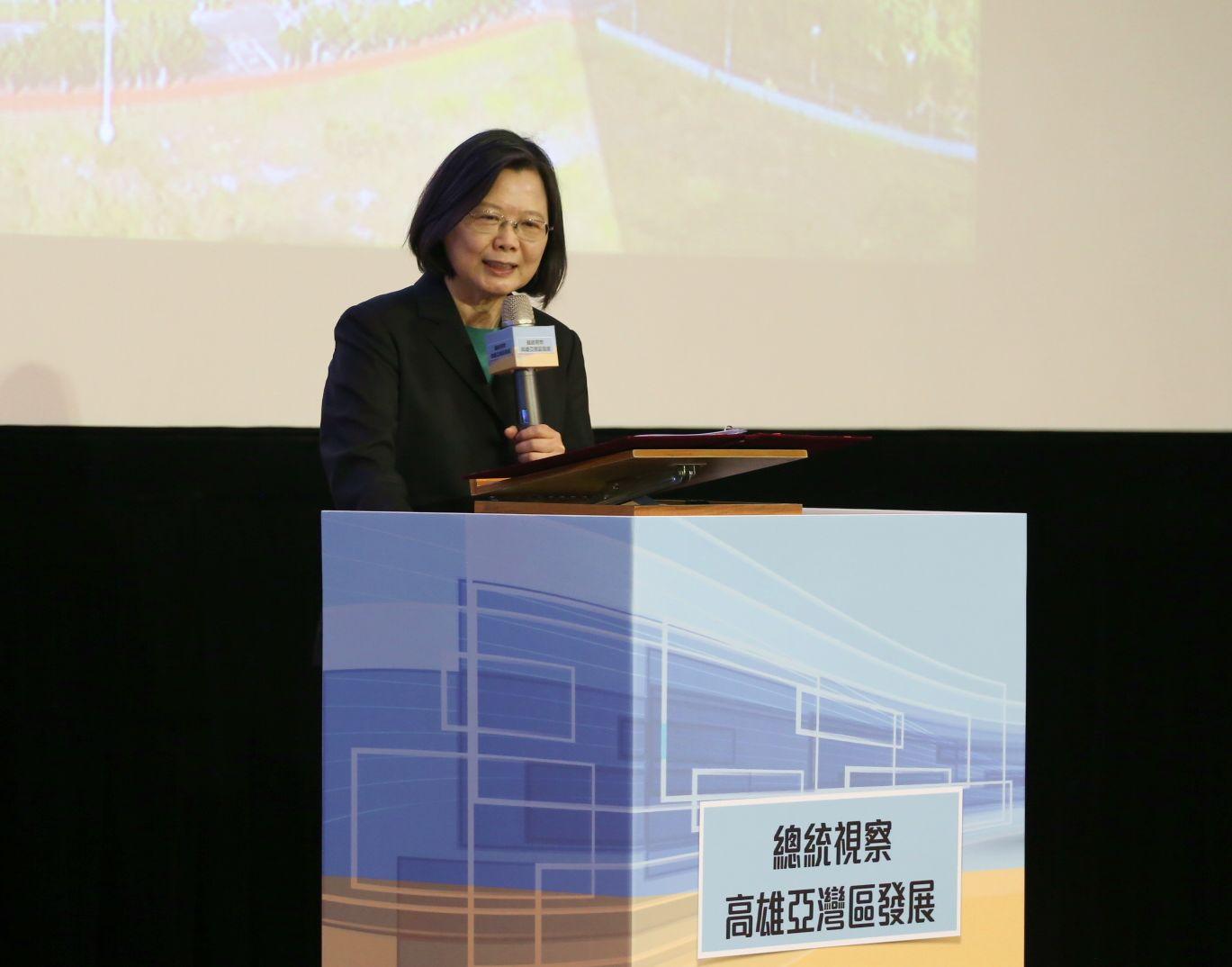 蔡總統、行政院長高雄合體 陳其邁:打造全台最好、最佳的5G AIoT創新園區