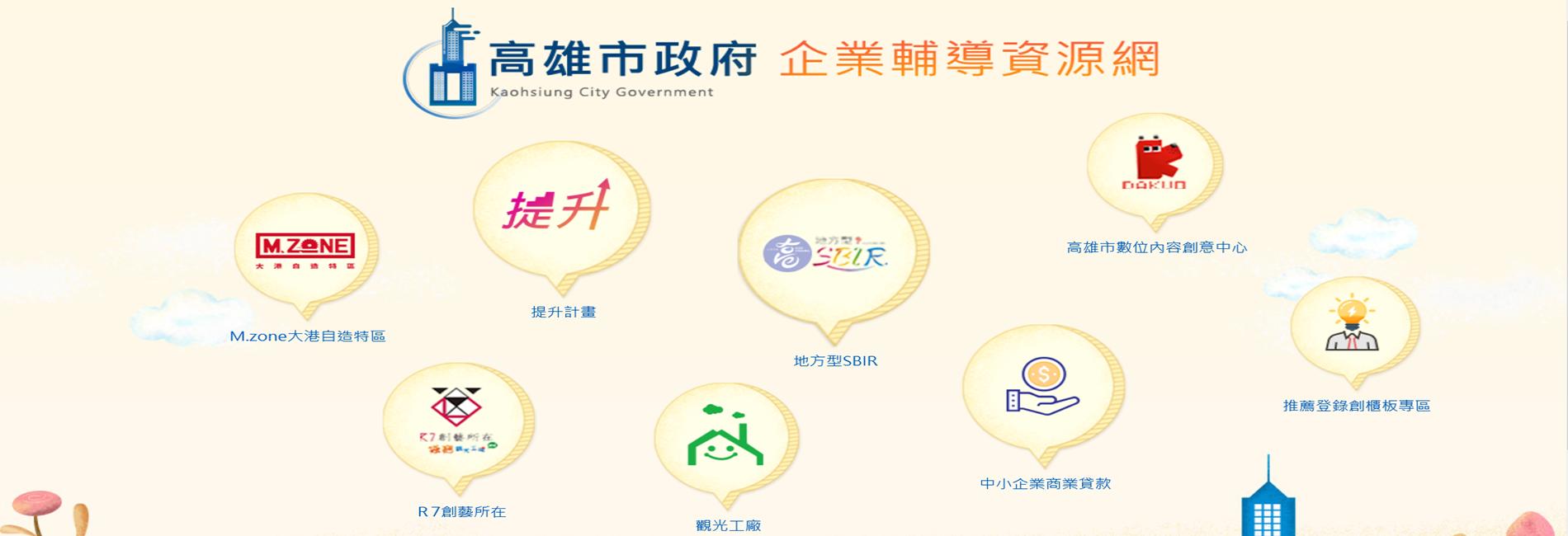 高雄市政府企業輔導資源網