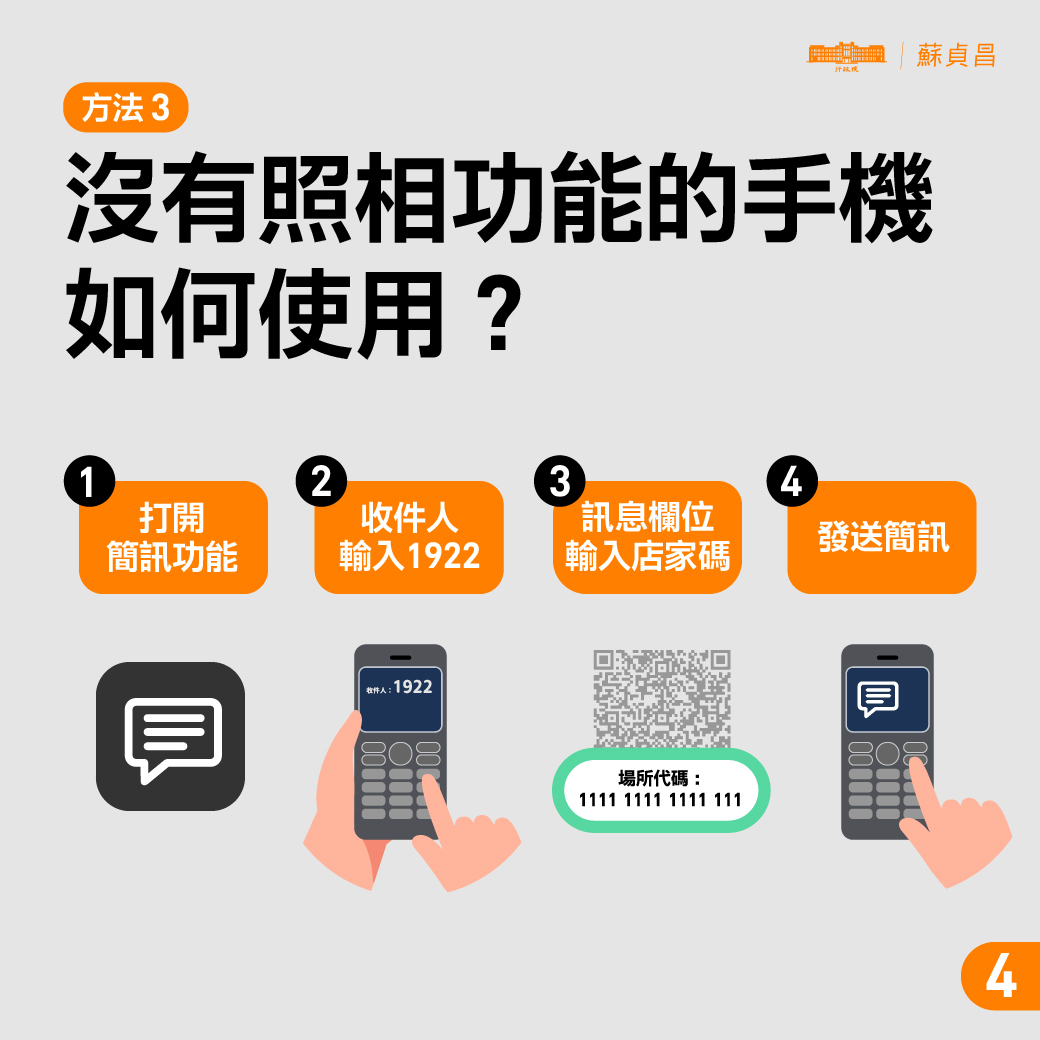 簡訊實聯制QR-Code3