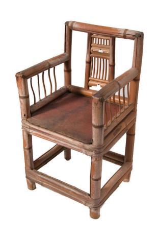 036 竹椅
