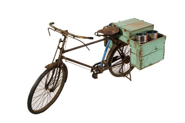 002 販冰腳踏車 / 賣冰車