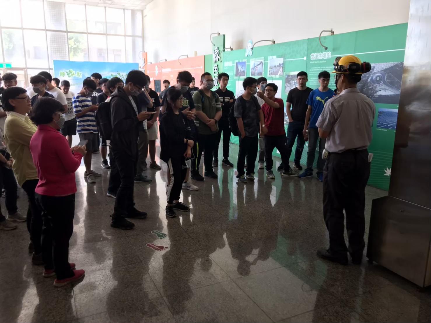 108年10月01日正修科技大學電機工程系到廠進行焚化廠面面觀教案課程,共51名人員參與。