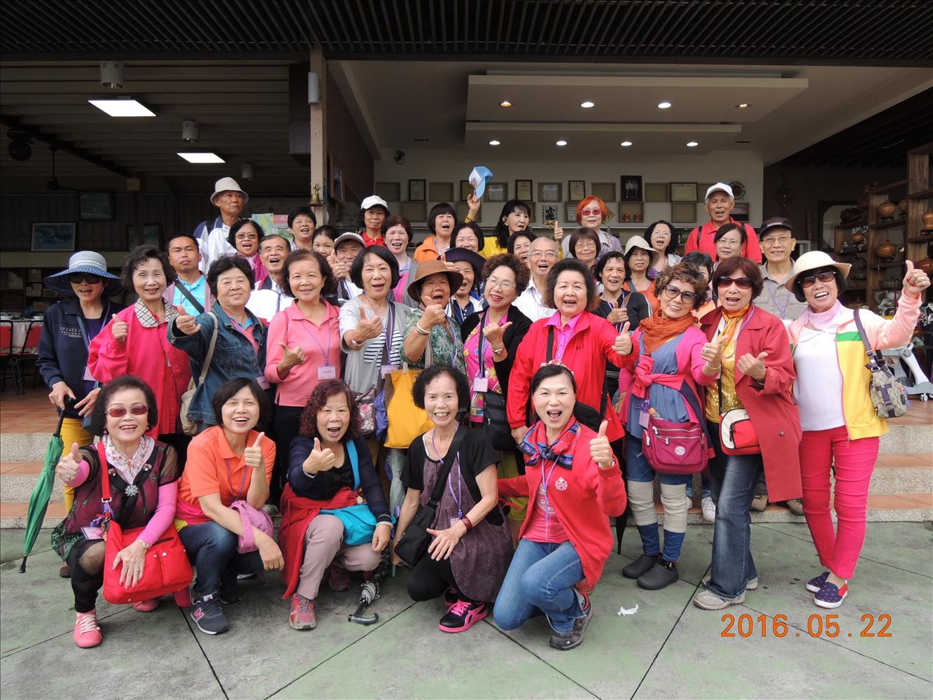 105年鳳山老人活動中心志工旅遊照片