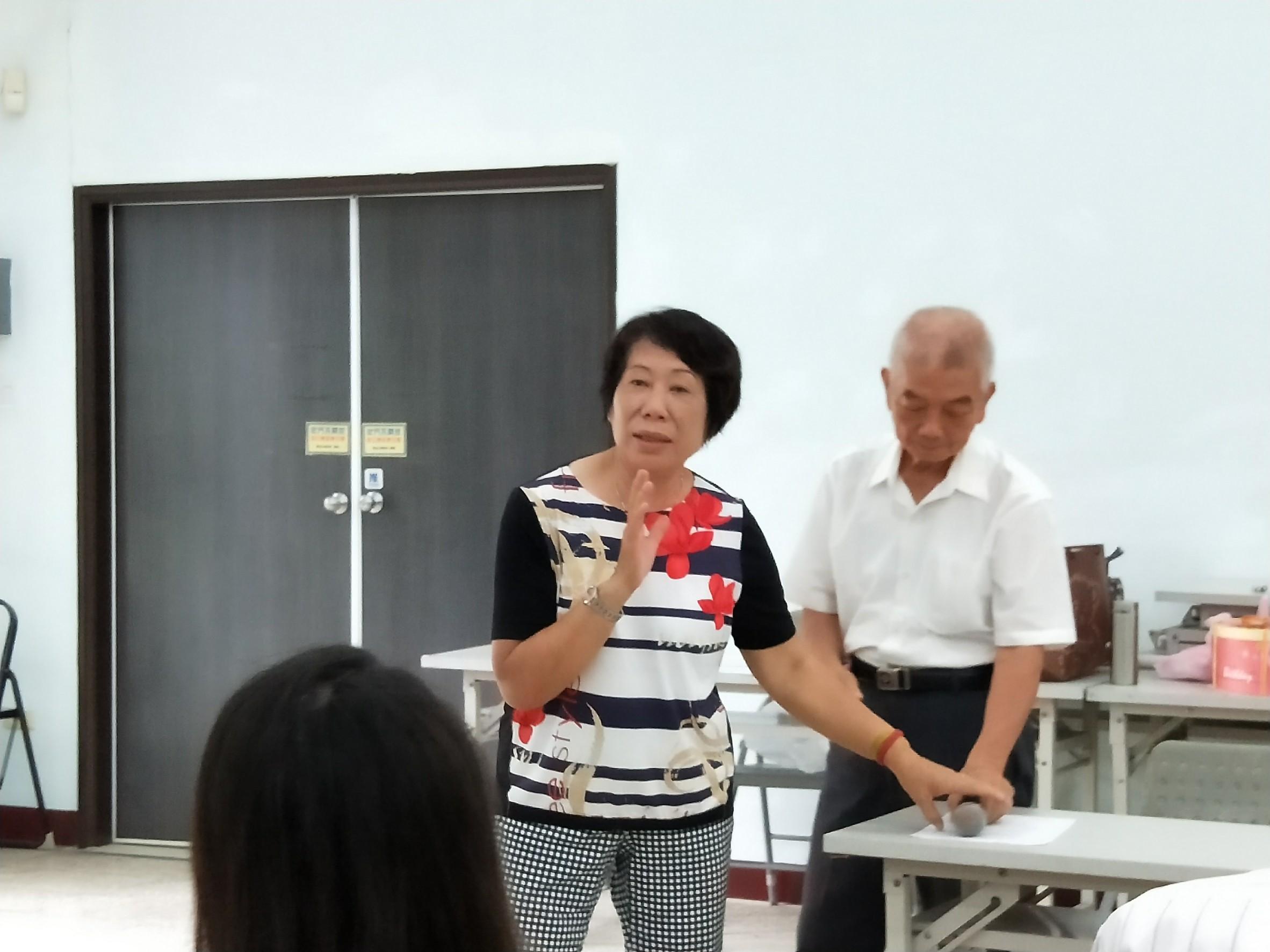 108.05.25鳳老中心志工會議暨第二季慶生會