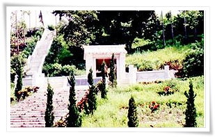 Cemetery of Zhenghaijun in Jiasian