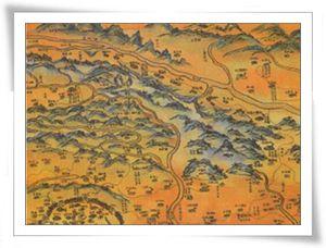old map of Lujhu