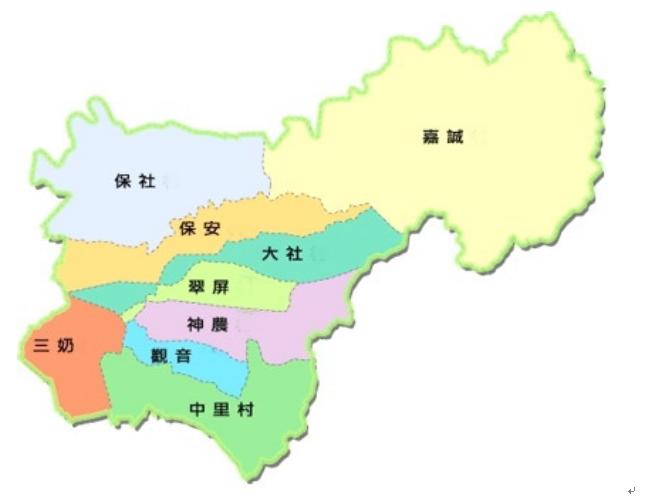 本區現轄圖