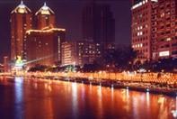 愛河河畔夜景
