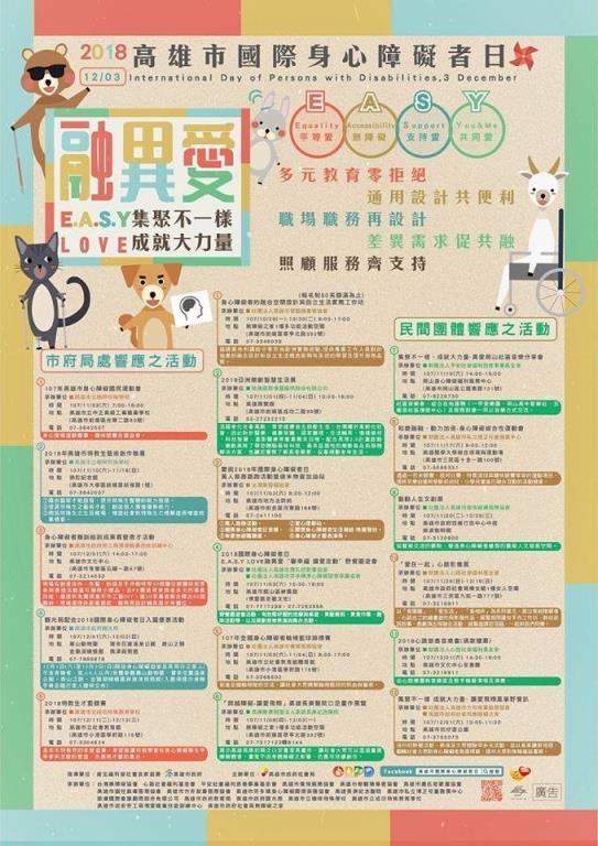 2018高雄市國際身心障礙者日3