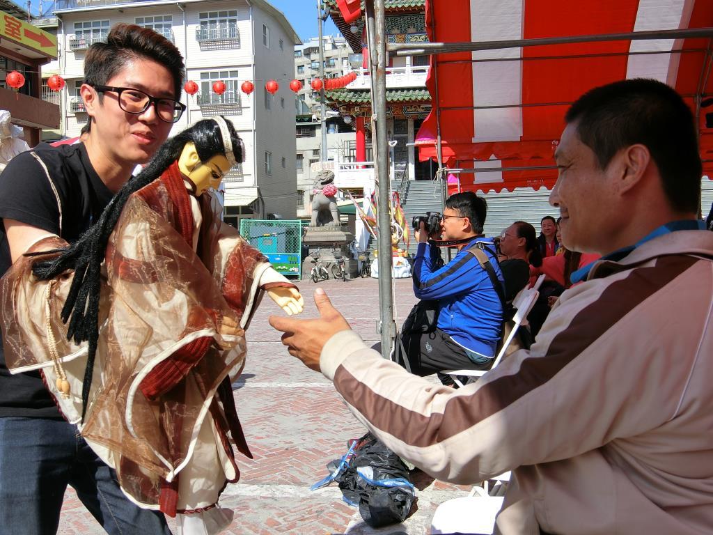 鳳北里布袋戲之表演