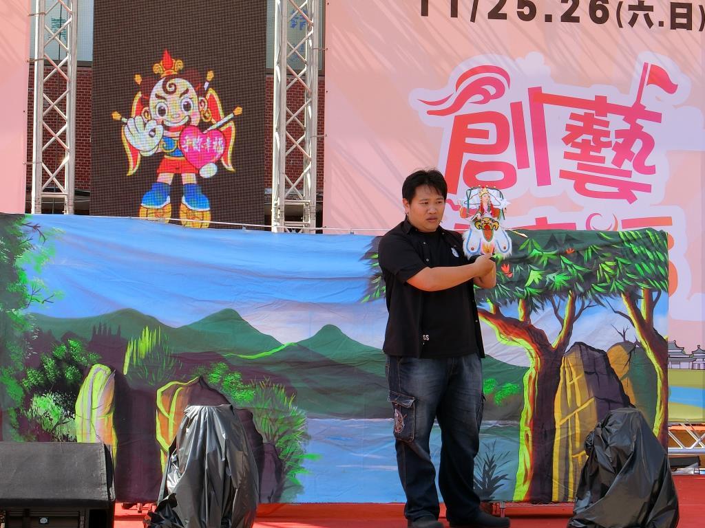 鳳北里布袋戲表演