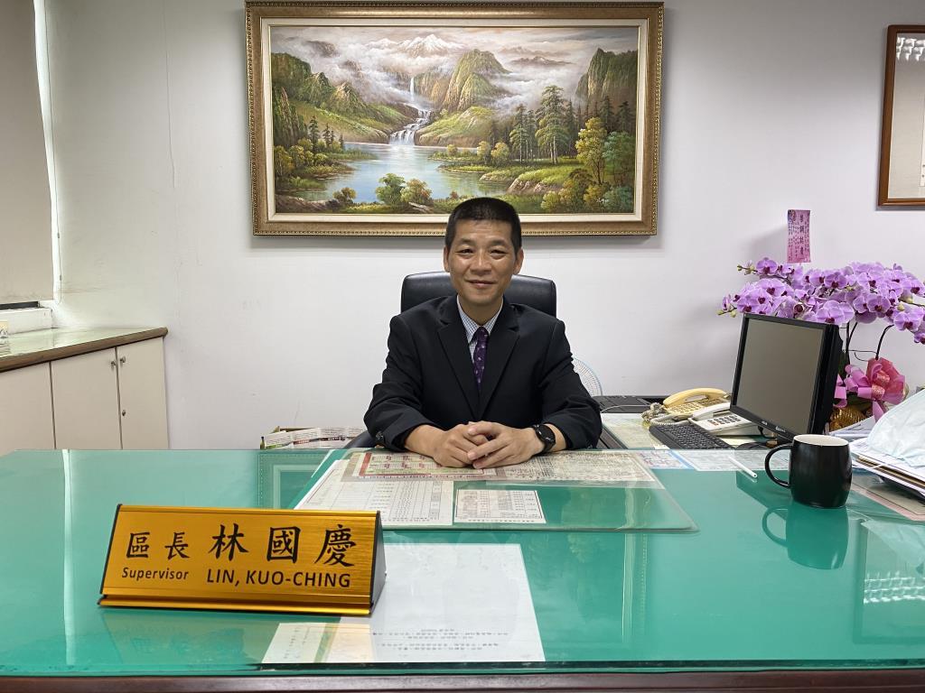 林國慶區長照片