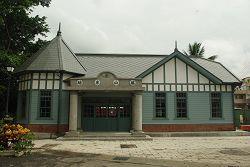 小火車站正面照片