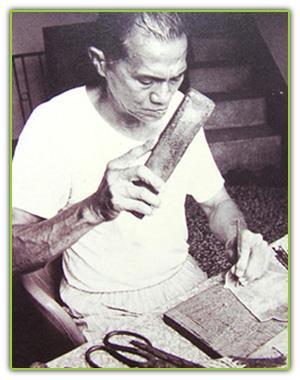國寶級民族藝師張德成製作皮偶