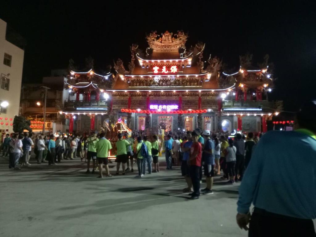 2017年保元宮保生大帝進香遶境活動。