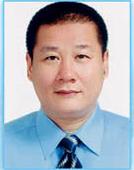 民選第十五屆鄉長及官派第一任區長施文宗先生照片