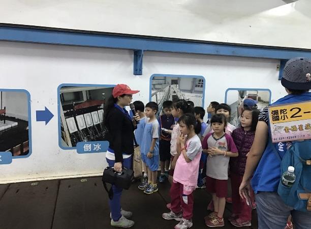 國小觀摩製冰廠