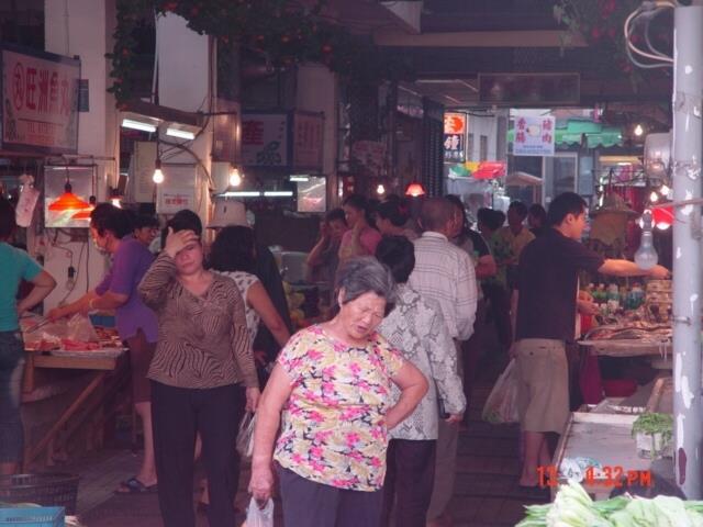 菜市場內部景象