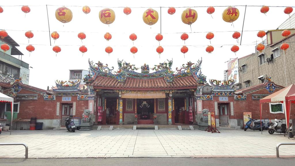 the front of Tianhou Temple