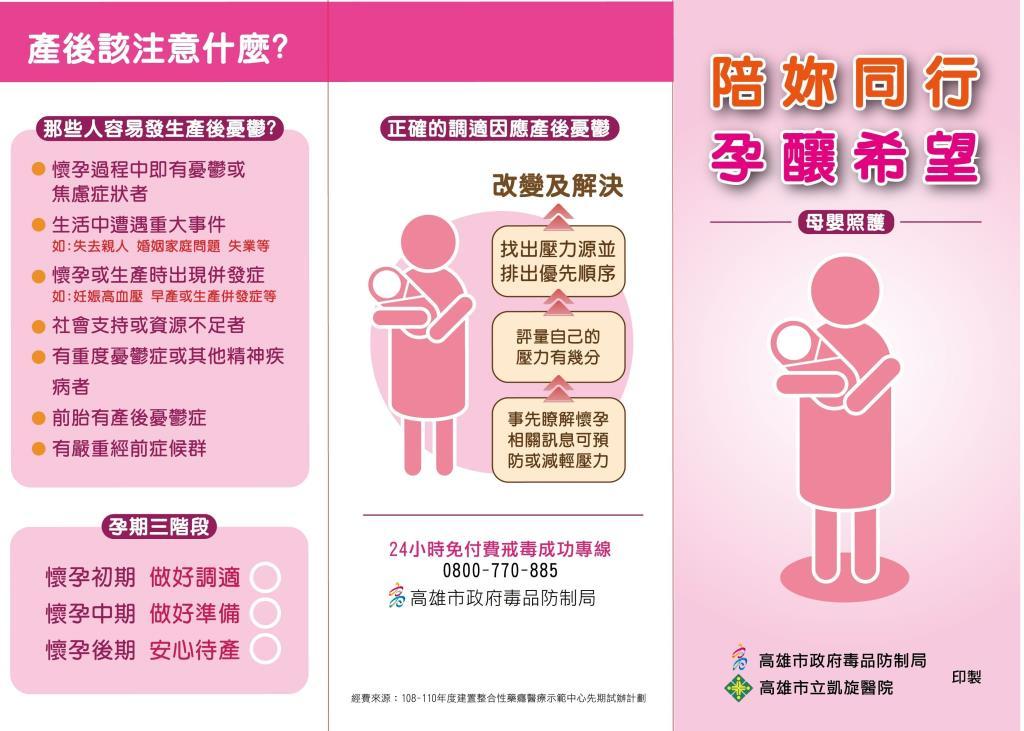 產後該注意什麼? 1.那些人容易產後憂鬱 2.孕期三階段 3.正確的適應因應產後憂鬱