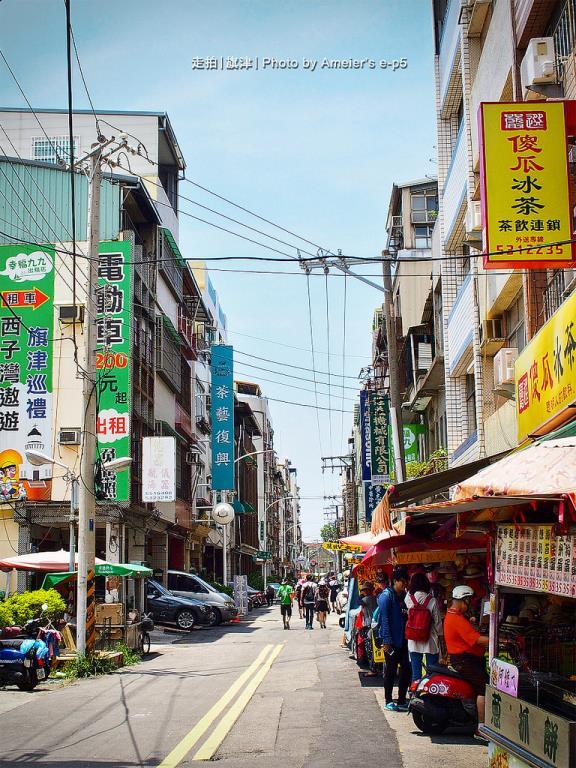 麗雄街的街道樣貌