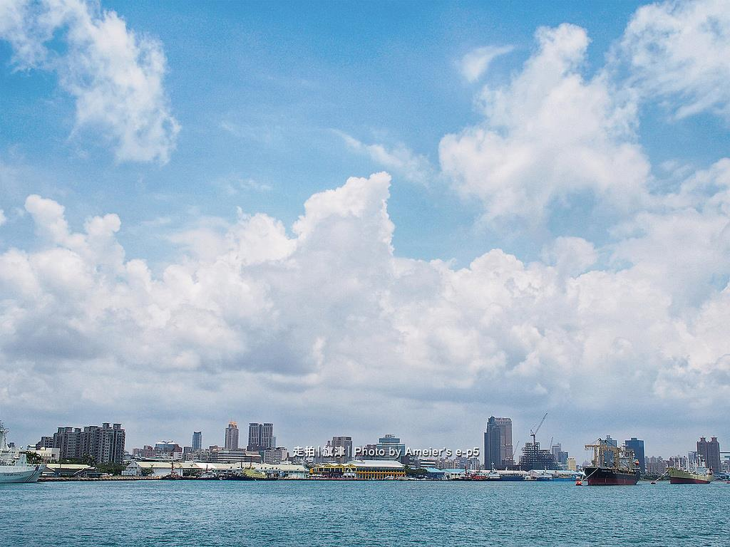 高雄港海景