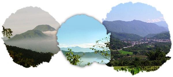 甲仙區自然環境地形