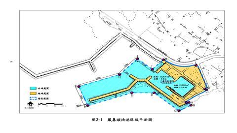 鳳鼻頭漁港平面圖