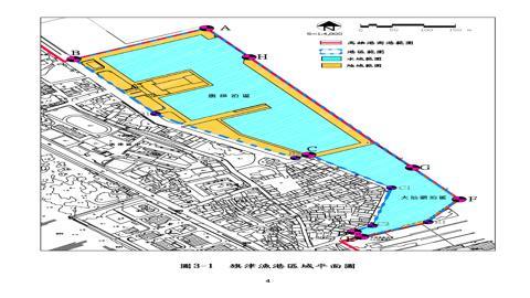 旗津漁港平面圖