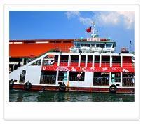 旗津漁港-環港渡輪(觀光船)停靠站