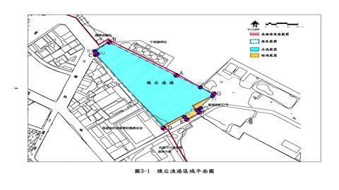 旗后漁港平面圖