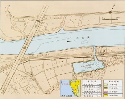 白砂崙漁港圖示