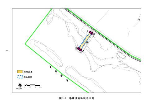 港埔漁港平面圖