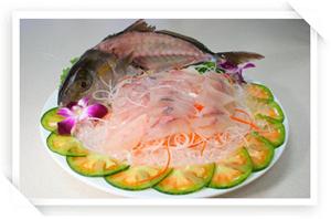 美味生魚片