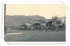 舊旗津三輪車