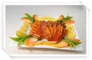 切片烏魚子冷盤
