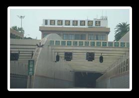 過港隧道入口