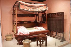 傳統文物臥室展示