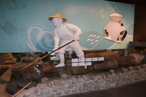 農人耕田模型展示2