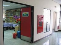 訓練教室大門