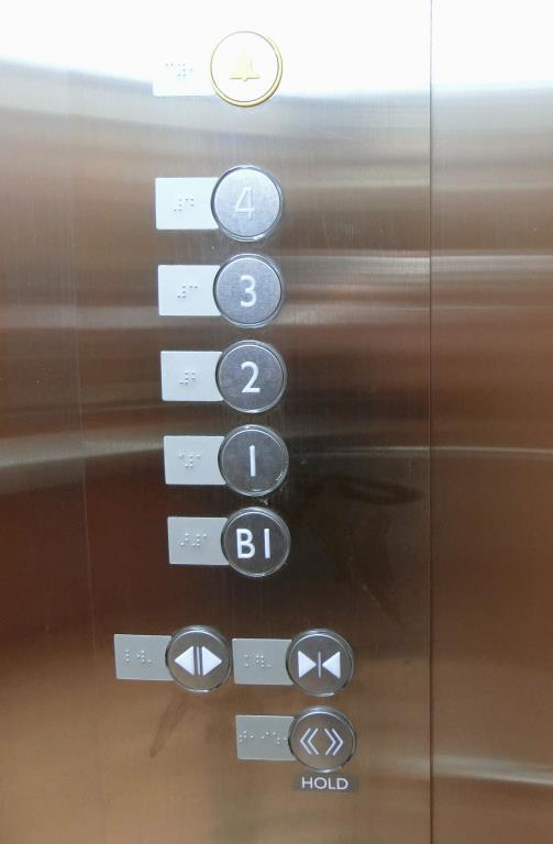 電梯點字設備